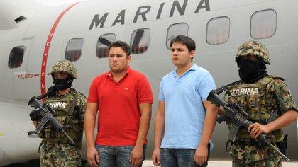 Félix Beltrán fue detenido junto con su hermanastro (Foto: Cuartoscuro)