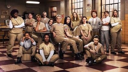 "La popular serie ""Orange is The New Black"", de Netflix"