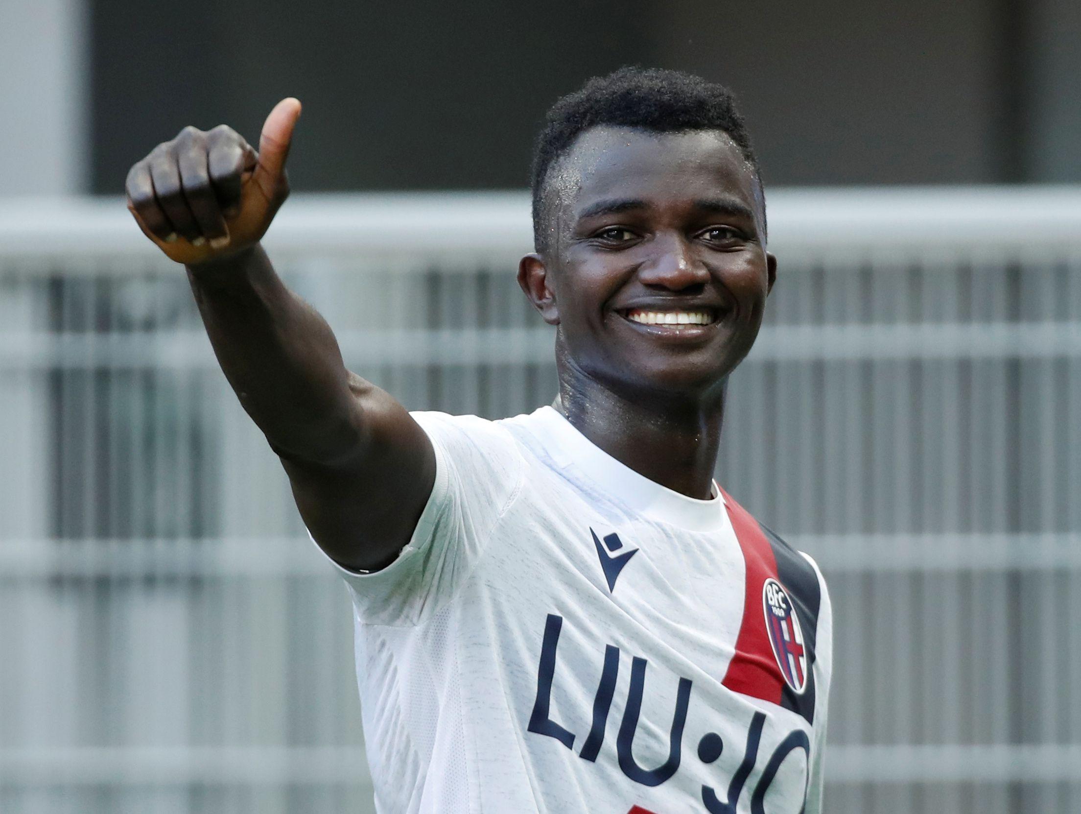 Musa Juwara marcó su primer gol como profesional ante el Inter de Milan (Reuters)