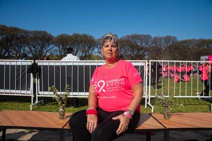 Marcela Bonelli fue diagnosticada a los 55 años. Hoy es una sobreviviente del cáncer de mama
