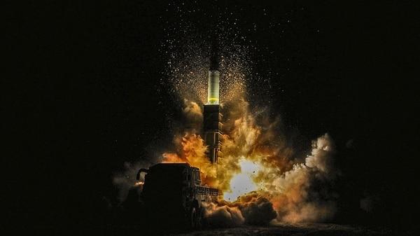 El Hyunmoo-2 es un destructor de búnkers que formaría parte de la primera reacción en caso de guerra (Reuters)