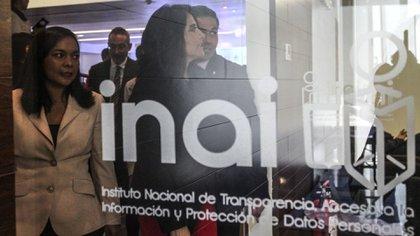 El comisionado del INAI defendió el instituto por ser un puente de comunicación entre la sociedad y el gobierno para empoderar a las personas. (Foto: Cuartoscuro)