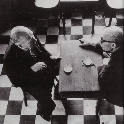 Borges y Sabato (Revista Gente)