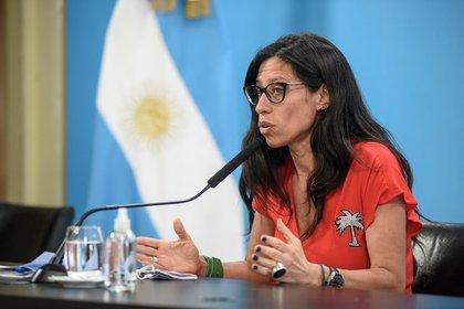 La secretaria de Comercio Interior, Paula Español, recorrió supermercados y carnicerías de Villa Crespo