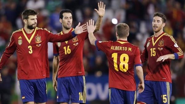 El conjunto español tiene varios jugadores catalanes