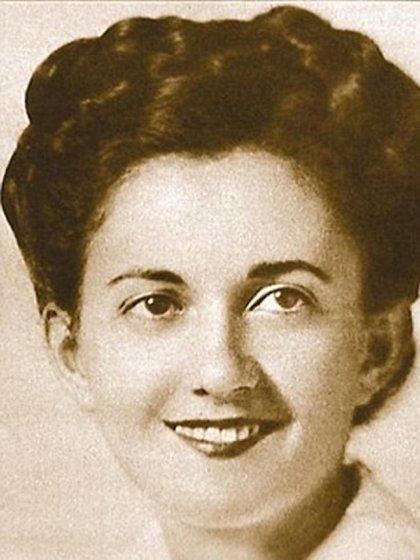 Greta Zimmer Friedman en la época de la foto (Handout)