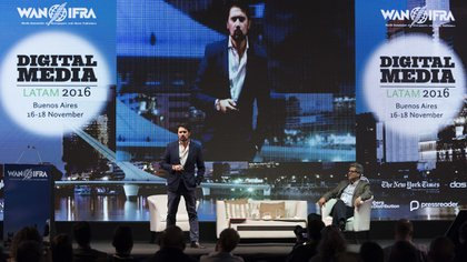 Roberto de Celis fue uno de los oradores de la segunda jornada (Adrián Escandar)