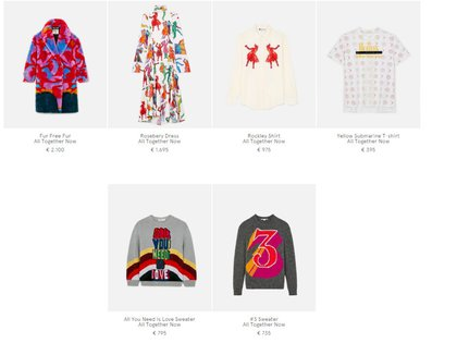 La colección de mujer de Stella McCartney. Lo más caro es el tapado de piel 2.100 euros