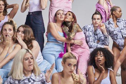"""Tati Saal y Cande Tinelli, las diseñadoras y creadoras de Madness Clothing y la cápsula de """"Barbie is a mood""""  (Foto: Phresh.x)"""