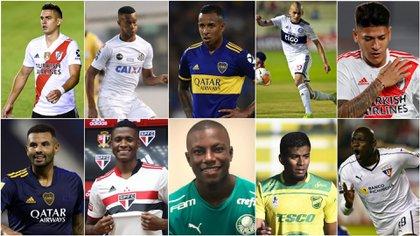 Copa Libertadores: 21 jugadores colombianos participarán en 13 clubes del exterior