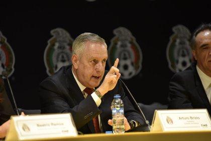Arturo Brizio es el presidente de la Comisión de Arbitraje (Foto: Artemio Guerra Baz/ Cuartoscuro)