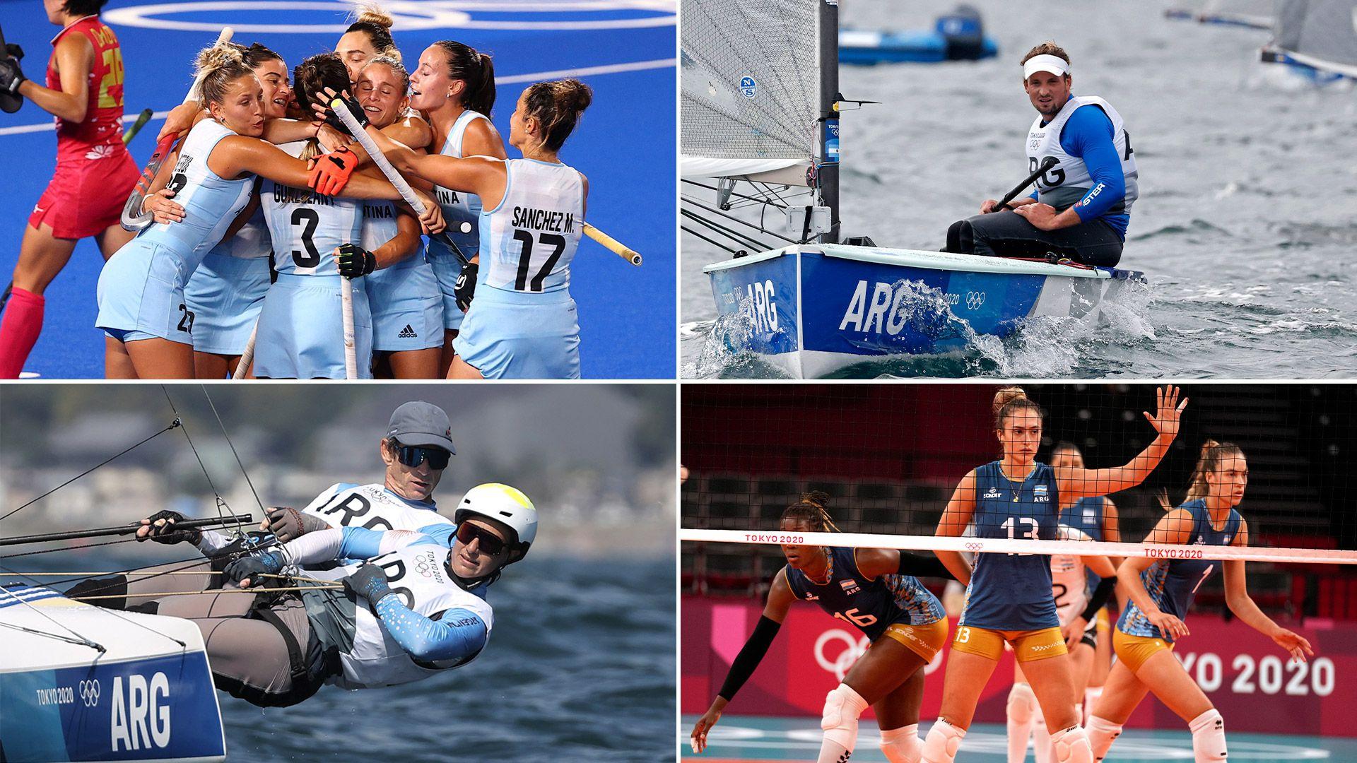 argentina juegos olimpicos tokio Hockey Las Leonas - Vela Facundo Olezza Lange Carranza - Las Panteras Voley