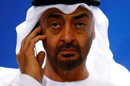 El príncipe heredero Mohammed bin Zayed al Nahyan (Reuters)