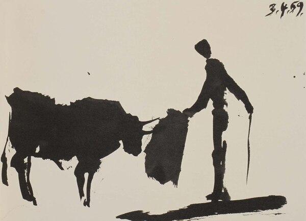 Álbum de dibujos realizados en Vallauris, de Picasso