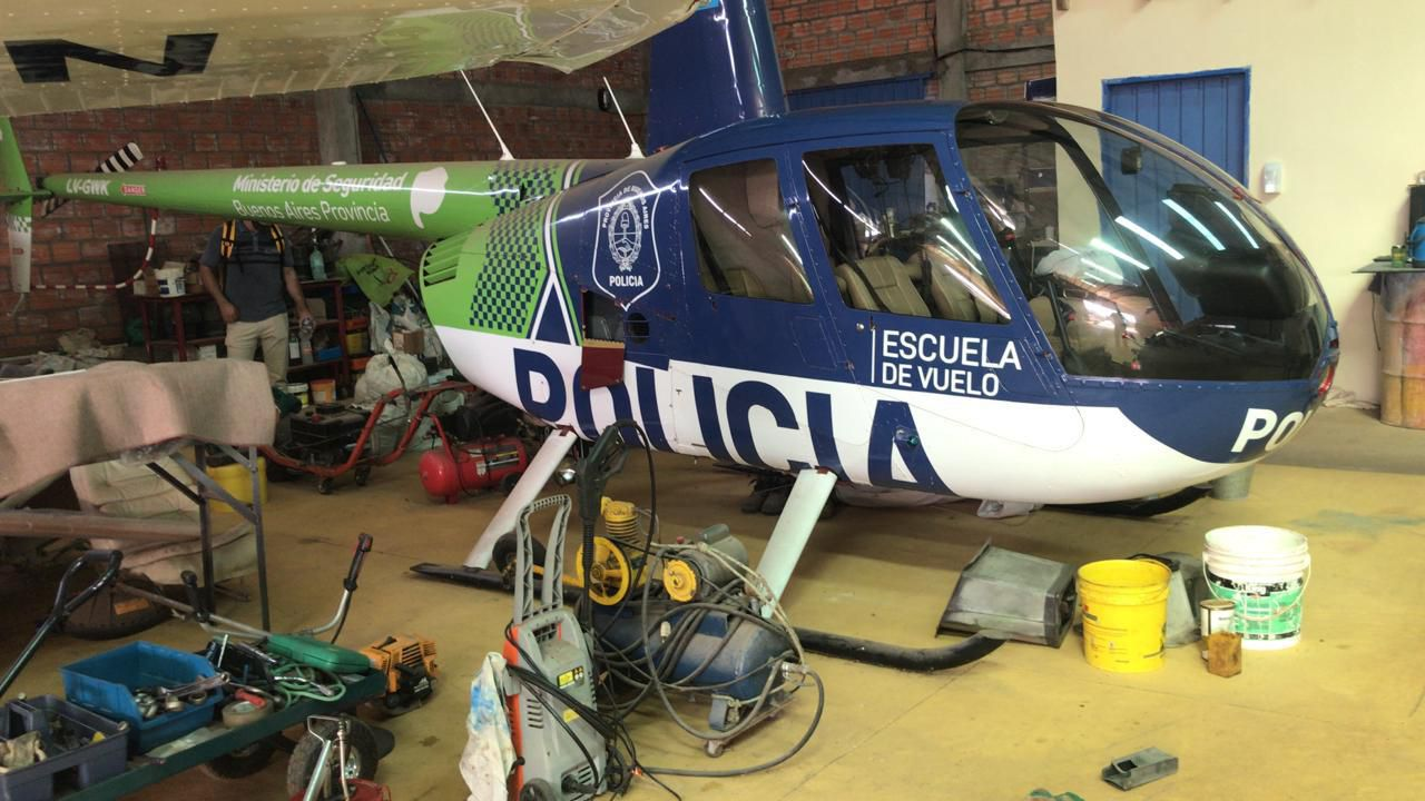 Helicóptero Paraguay