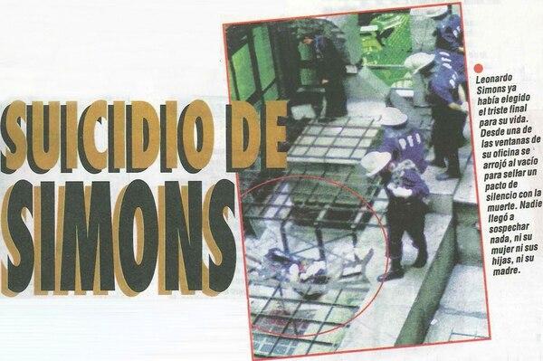 El animador se arrojó de un piso 13; ya en la cornisa lo agarraron, pero se zafó y cayó al vacío (Revista Flash)
