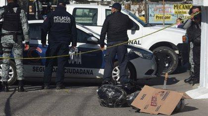 Los integrantes de la BOM no definieron si los restos humanos pertenecían a una mujer o un hombre (Foto: Cuartoscuro)
