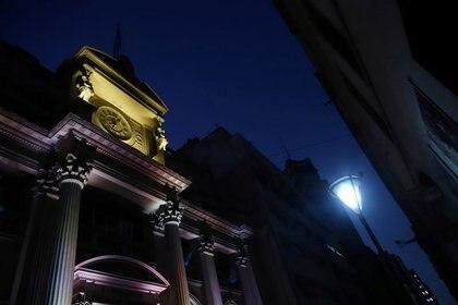 Foto de archivo del edificio del Banco Central de Argentina.  Mar 16, 2020. REUTERS/Matías Baglietto