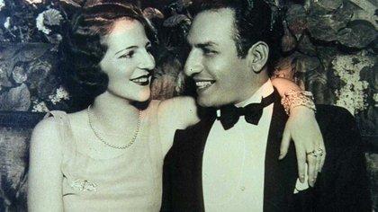 Myriam Stefford y Raúl Barón Biza