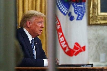 Trump anunció también incentivos económicos por 200.000 millones de dólares (REUTERS/Tom Brenner)