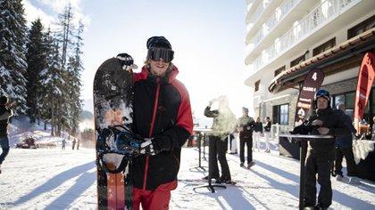 Esquí y snowboard entre los deportes preferidos (Lihue Althabe)