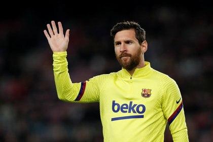 Messi debutó en 2004 con la casaca del Barcelona. Tiene contrato hasta junio de 2021 (REUTERS/Albert Gea)