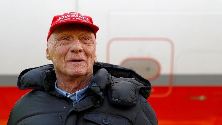 Lauda falleció a los 70 años, en el Hospital Universitario de Münich (Reuters)