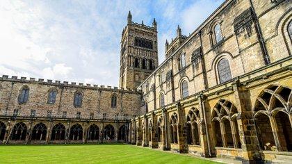 La catedral de Durham en el noreste de Inglaterra fue otro lugar de rodaje de Hogwarts para las dos primeras películas