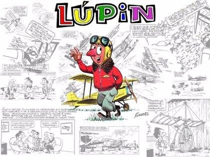 Lupin, el personaje creado por Guillermo Guerrero