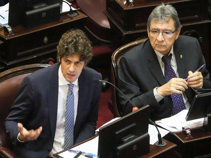 Martín Lousteau, senador porteño por Juntos por el Cambio (NA)