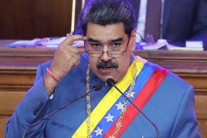 El dictador de Venezuela, Nicolás Maduro. EFE/ Miguel Gutiérrez/Archivo