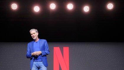 Reed Hastings, fundador y CEO de Netflix (Crédito: Netflix)
