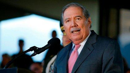 El ministro de Defensa de Colombia, Guillermo Botero