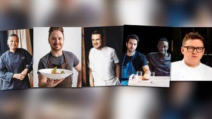 Las recetas de 5 chefs con estrellas Michelin