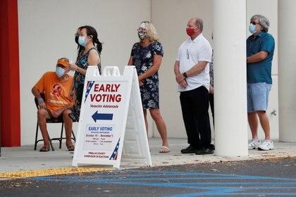 Votación anticipada en EEUU.  REUTERS/Octavio Jones