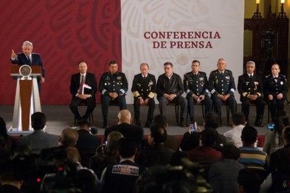 """El tabasqueño ha señalado que las Fuerzas Armadas son """"pueblo uniformado"""" y las represiones de otras épocas """"se terminaron"""" (Foto: Galo Cañas/ Cuartocuro)"""