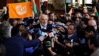 Carlos Mesa (AFP)