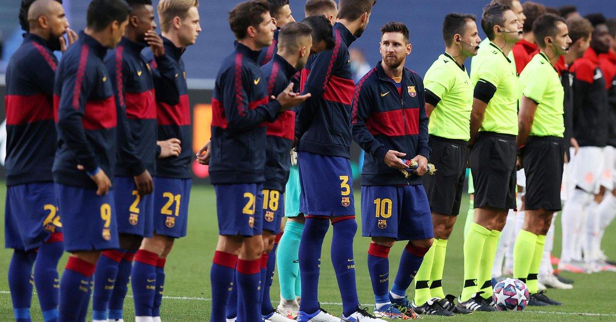 El fuerte respaldo del vestuario del Barcelona a Lionel Messi tras su conflicto con el club  - Infobae