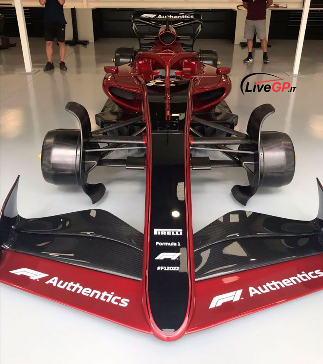 Auto de F1 2022