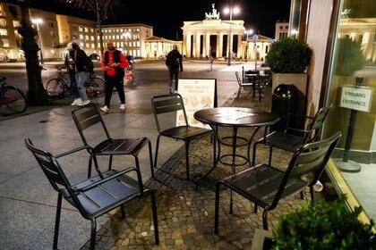 Desde el próximo 2 de noviembre cerrarán bares y restaurantes en Alemania (REUTERS/Fabrizio Bensch)
