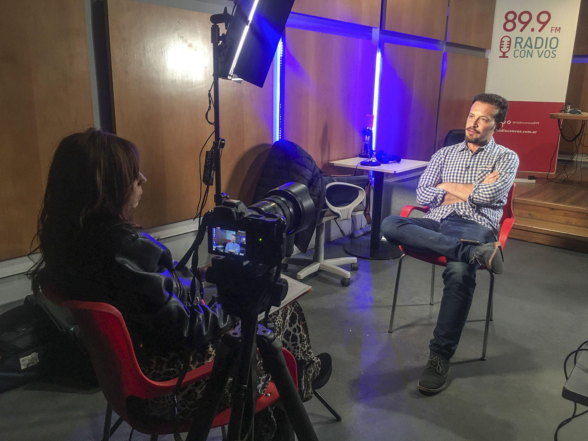 Entrevista realizada por Mariana Dahbar a Alejandro Bercovich