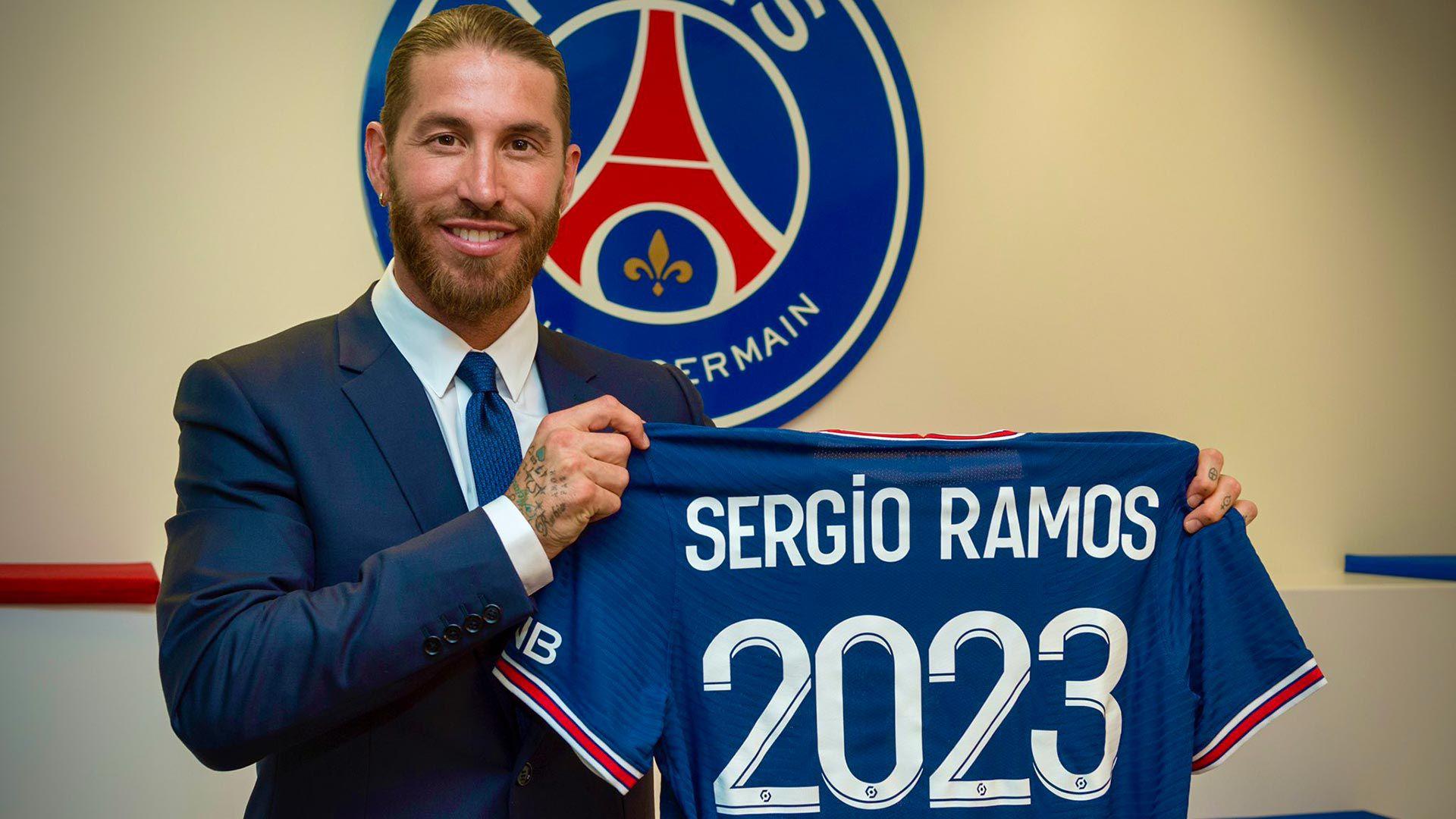 Sergio Ramos PSG 1920