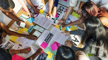 Las ideas creativas que surgen en equipo suelen progresar rápidamente