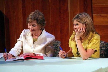 Jenna Bush Hager publicó antes dos libros para niños en coautoría con su madre, Laura Bush. (Kpa/Zuma/Shutterstock)