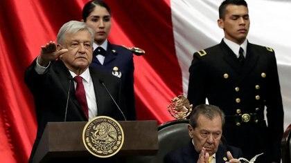 López Obrador toma posesión como presidente de México en diciembre de 2018 (Foto: Henry Romero/ Reuters)