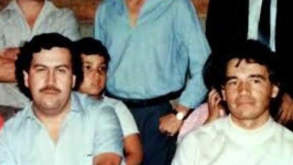 Pablo Escobar y Carlos Lehder, fundadores del Cártel de Medellín