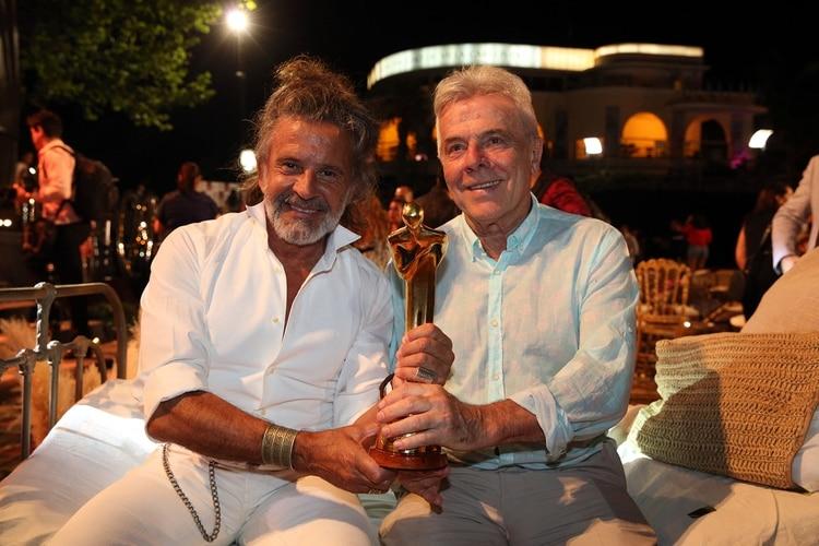 Osvaldo Laport y Víctor Laplace