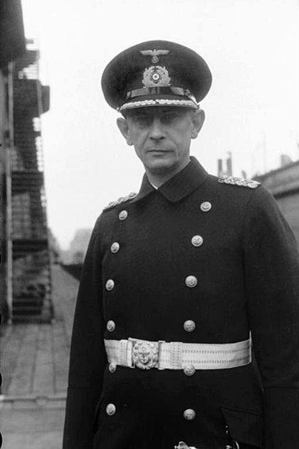 Ernst Lindemann, el capitán del acorazado Bismarck