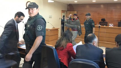 Jones Huala, tras conocer su condena en diciembre de 2018