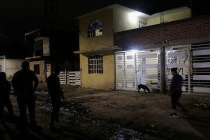 """El inmueble ocupado por el centro de rehabilitación """"Recuperando mi vida"""", donde murieron 26 personas (Foto: REUTERS/Sergio Maldonado)"""